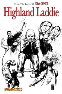 Cover Thumbnail for The Boys: Highland Laddie (Dynamite Entertainment, 2010 series) #1 [B&W RI]