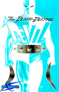 Cover Thumbnail for Death-Defying 'Devil (Dynamite Entertainment, 2008 series) #1 [Negative Art Retailer Incentive - John Cassaday]