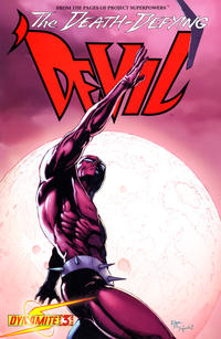 Cover Thumbnail for Death-Defying 'Devil (Dynamite Entertainment, 2008 series) #3 [Edgar Salazar]