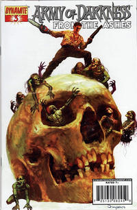 Cover Thumbnail for Army of Darkness (Dynamite Entertainment, 2007 series) #3 [Silver Foil Variant]