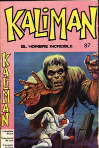 Cover Thumbnail for Kaliman (Editora Cinco, 1976 series) #87