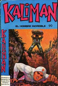 Cover Thumbnail for Kaliman (Editora Cinco, 1976 series) #90