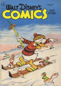 Cover Thumbnail for Walt Disney's Comics and Stories (Wilson Publishing, 1947 series) #v10#4 (87) [112]