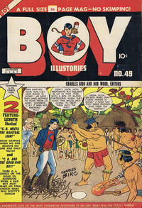 Cover Thumbnail for Boy Comics [Boy Illustories] (Superior Publishers Limited, 1948 series) #49