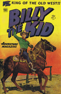 Cover Thumbnail for Billy the Kid (Superior Publishers Limited, 1950 series) #6