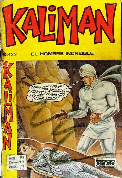 Cover for Kaliman (Editora Cinco, 1976 series) #488