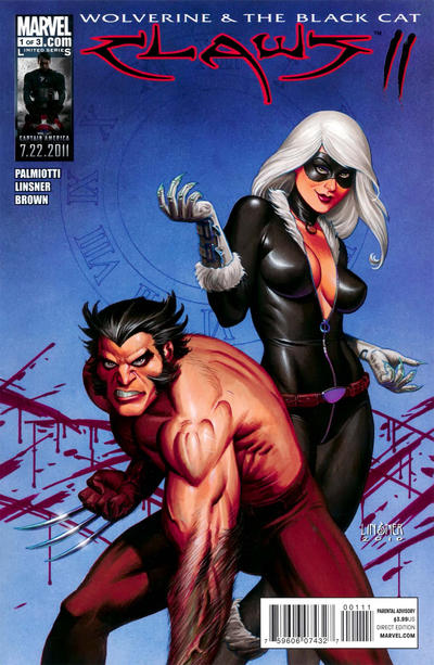 Cover for Wolverine & Black Cat: Claws 2 (Marvel, 2011 series) #1