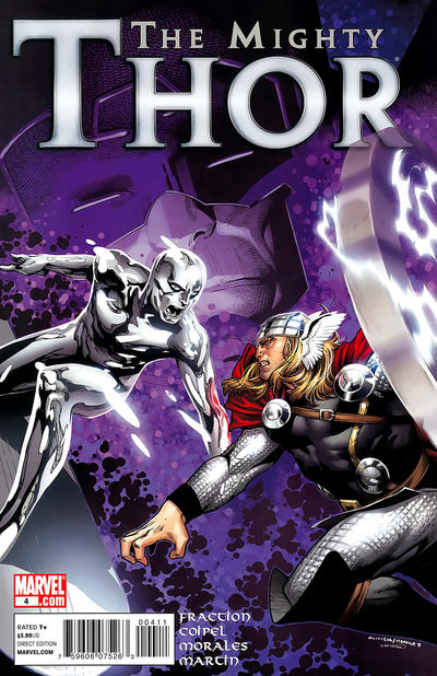 Cover for The Mighty Thor (Marvel, 2011 series) #4 [Second Printing]