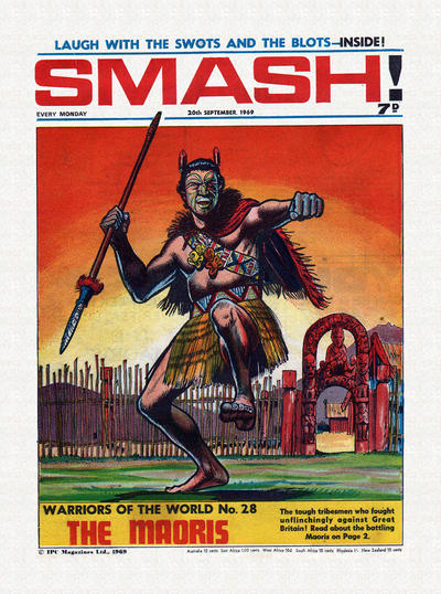 Cover for Smash! (IPC, 1966 series) #190