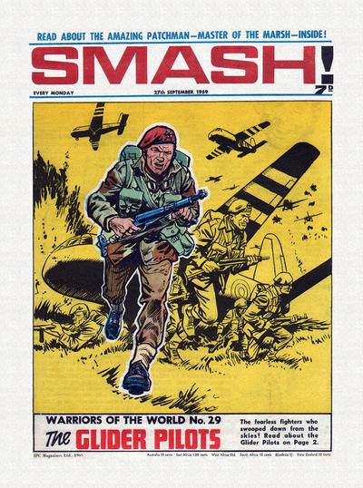 Cover for Smash! (IPC, 1966 series) #191