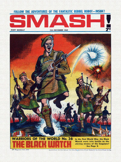 Cover for Smash! (IPC, 1966 series) #198