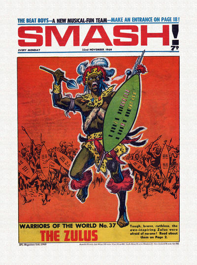 Cover for Smash! (IPC, 1966 series) #199