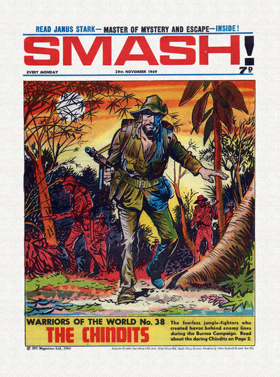 Cover for Smash! (IPC, 1966 series) #200