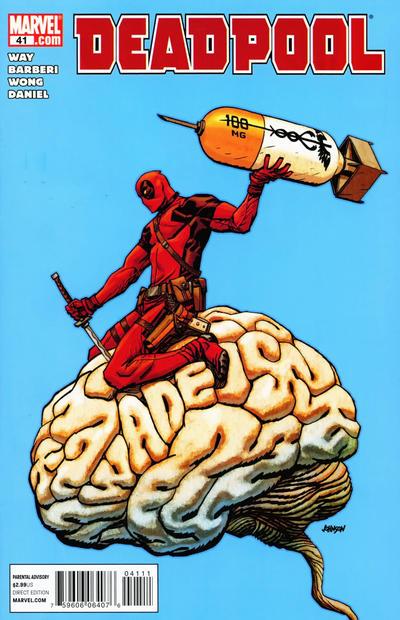 Cover for Deadpool (Marvel, 2008 series) #41