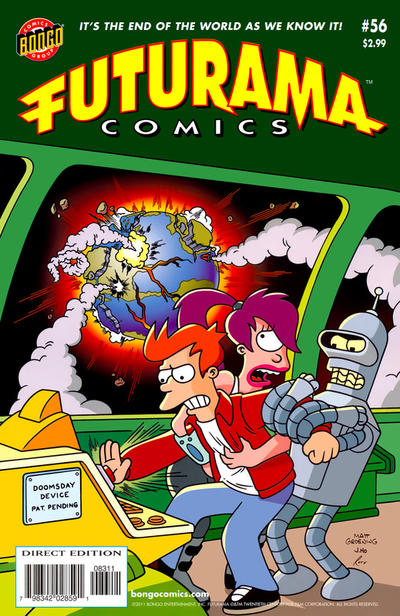 Cover for Bongo Comics Presents Futurama Comics (Bongo, 2000 series) #56