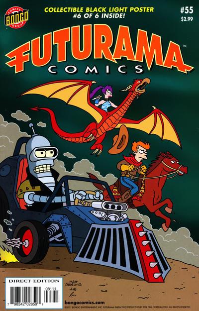 Cover for Bongo Comics Presents Futurama Comics (Bongo, 2000 series) #55