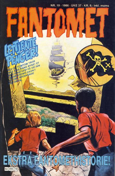 Cover for Fantomet (Semic, 1976 series) #19/1986