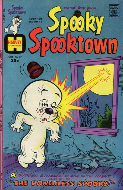 Cover for Spooky Spooktown (Harvey, 1961 series) #57