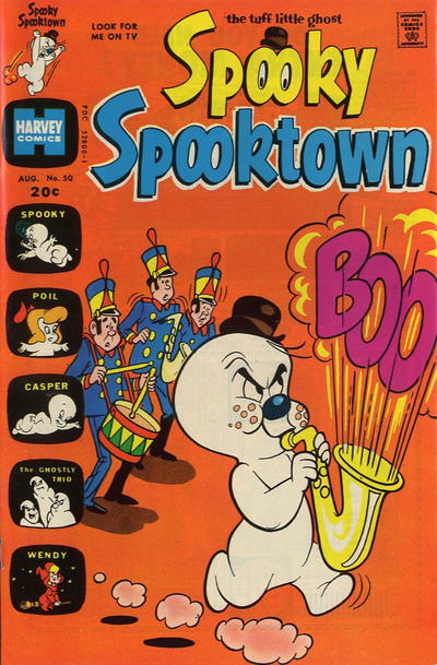 Cover for Spooky Spooktown (Harvey, 1961 series) #50