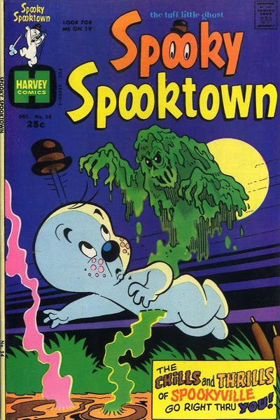 Cover for Spooky Spooktown (Harvey, 1961 series) #54