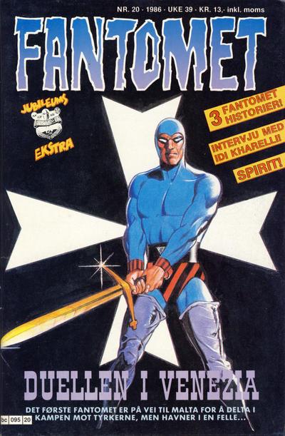 Cover for Fantomet (Semic, 1976 series) #20/1986