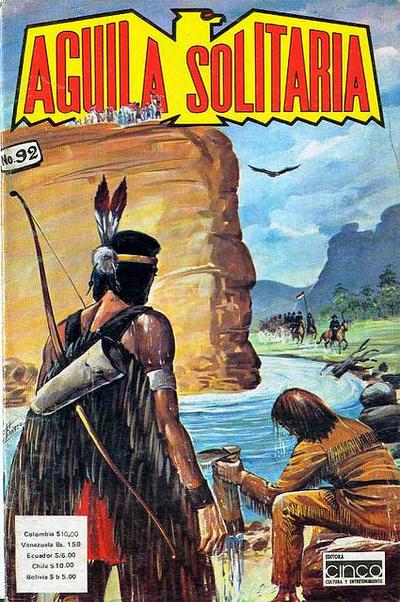 Cover for Aguila Solitaria (Editora Cinco, 1976 ? series) #92