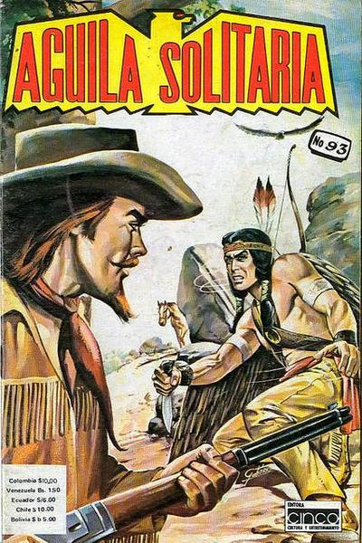 Cover for Aguila Solitaria (Editora Cinco, 1976 ? series) #93