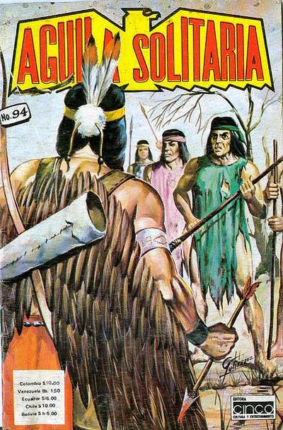 Cover for Aguila Solitaria (Editora Cinco, 1976 ? series) #94