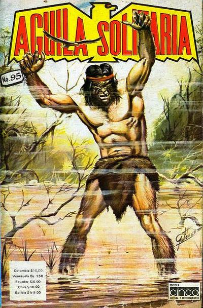 Cover for Aguila Solitaria (Editora Cinco, 1976 ? series) #95