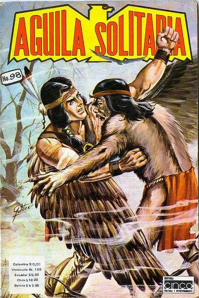 Cover for Aguila Solitaria (Editora Cinco, 1976 ? series) #98