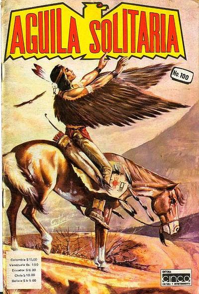 Cover for Aguila Solitaria (Editora Cinco, 1976 ? series) #100