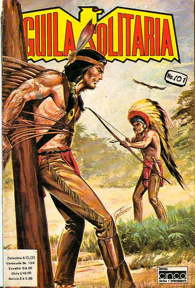 Cover for Aguila Solitaria (Editora Cinco, 1976 ? series) #101