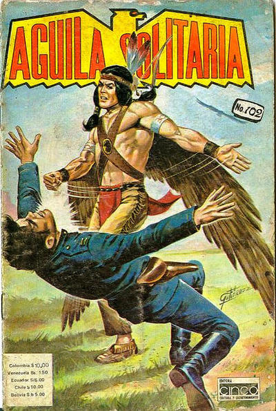 Cover for Aguila Solitaria (Editora Cinco, 1976 ? series) #102