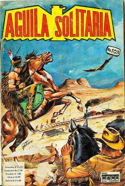 Cover for Aguila Solitaria (Editora Cinco, 1976 ? series) #103