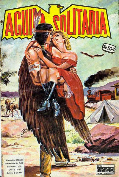 Cover for Aguila Solitaria (Editora Cinco, 1976 ? series) #104
