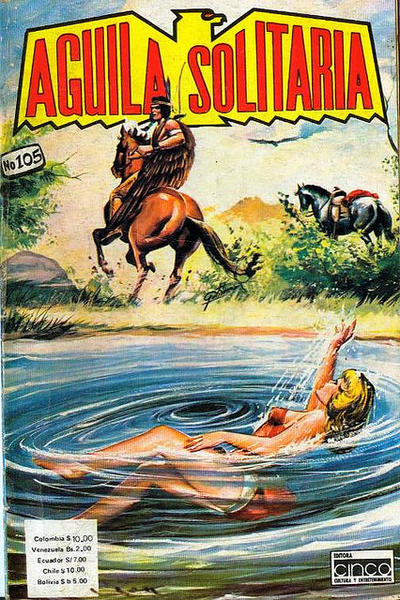 Cover for Aguila Solitaria (Editora Cinco, 1976 ? series) #105