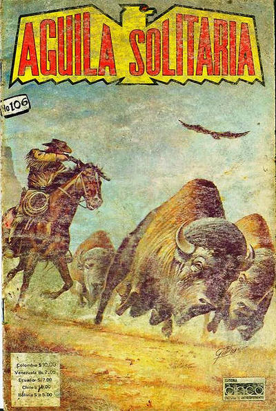 Cover for Aguila Solitaria (Editora Cinco, 1976 ? series) #106