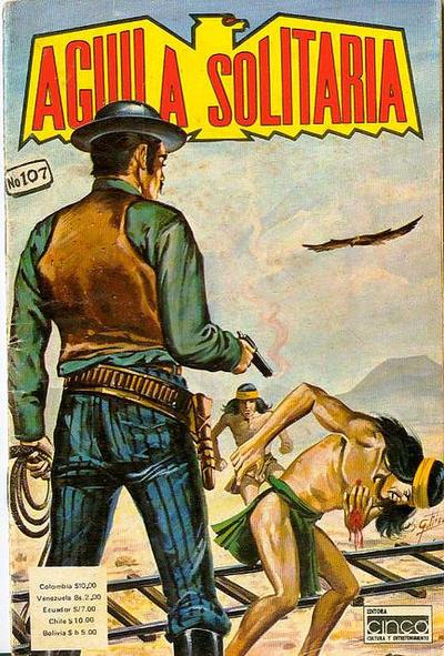 Cover for Aguila Solitaria (Editora Cinco, 1976 ? series) #107