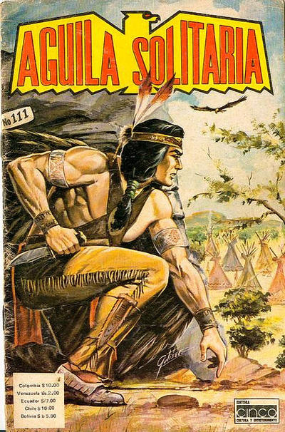 Cover for Aguila Solitaria (Editora Cinco, 1976 ? series) #111