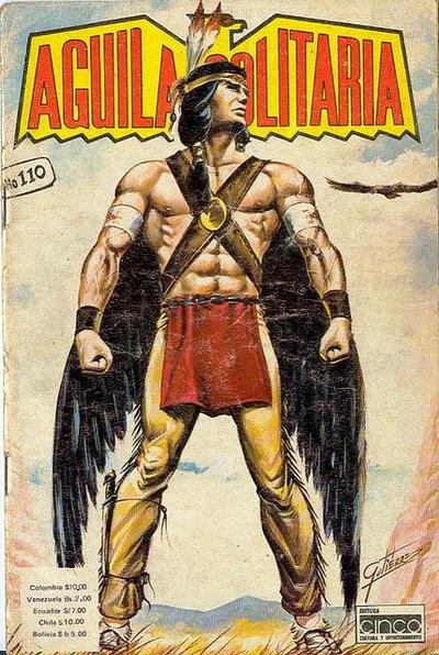Cover for Aguila Solitaria (Editora Cinco, 1976 ? series) #110