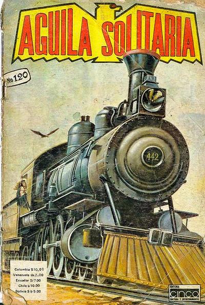 Cover for Aguila Solitaria (Editora Cinco, 1976 ? series) #120