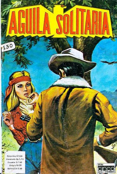 Cover for Aguila Solitaria (Editora Cinco, 1976 ? series) #130