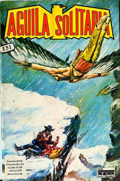 Cover for Aguila Solitaria (Editora Cinco, 1976 ? series) #131