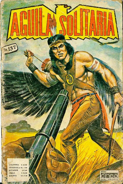 Cover for Aguila Solitaria (Editora Cinco, 1976 ? series) #137