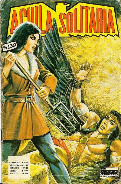 Cover for Aguila Solitaria (Editora Cinco, 1976 ? series) #139