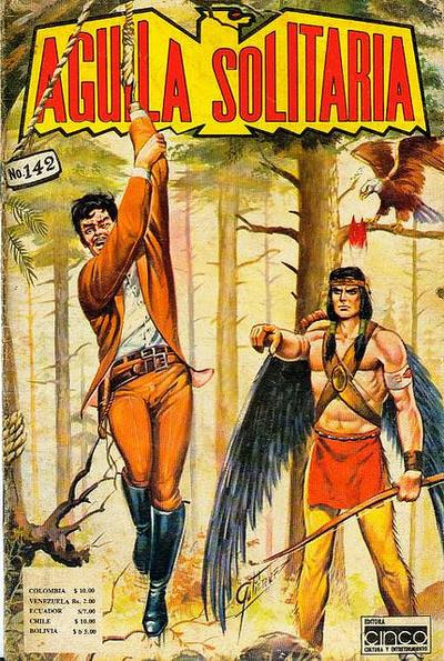 Cover for Aguila Solitaria (Editora Cinco, 1976 ? series) #142
