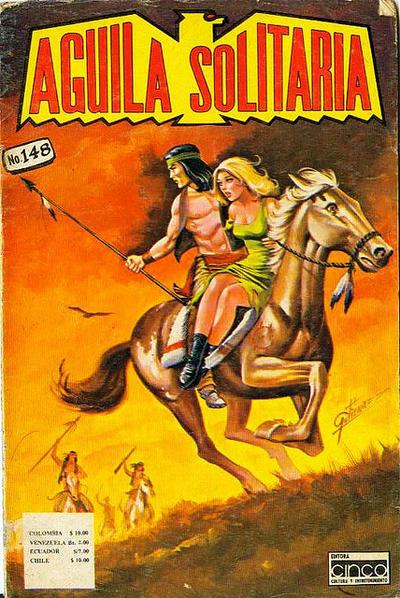 Cover for Aguila Solitaria (Editora Cinco, 1976 ? series) #148