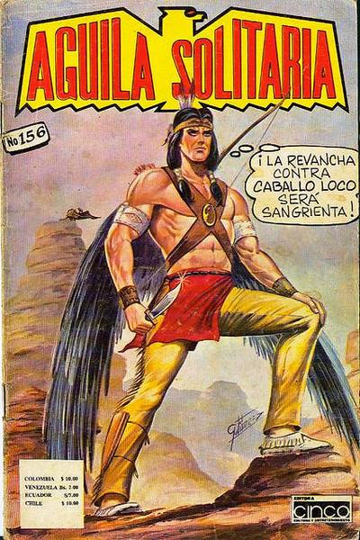 Cover for Aguila Solitaria (Editora Cinco, 1976 ? series) #156