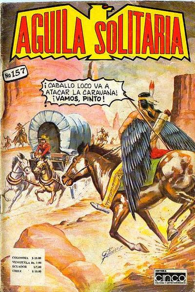 Cover for Aguila Solitaria (Editora Cinco, 1976 ? series) #157
