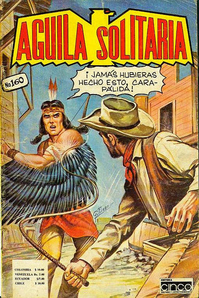Cover for Aguila Solitaria (Editora Cinco, 1976 ? series) #160